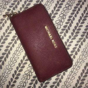Michael Kors Burgundy Wallet